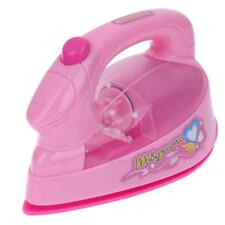 Mini Electric Iron Light-up Simulation Kids Children Play House Toy hv2n