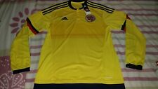 Boys Colombia 2014/2015 Long Sleeve home jersey