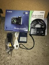 Canon PowerShot SX230 HS 12.1MP Digital Camera PC1587 - Black