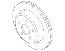 Genuine Ford Rotor AL5Z-2C026-B