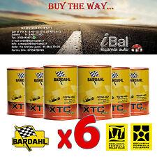 OLIO MOTORE XTC C 60 10W-40 BARDAHL 6L (4+2 OMAGGIO) TAGLIANDO AUTO - 326040