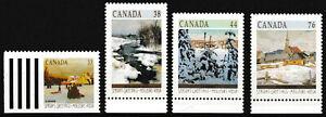Kanada - Weihnachten Satz postfrisch 1989 Mi. 1153-1156