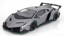 1:18 Kyosho Lamborghini Veneno 2014 greymetallic/green