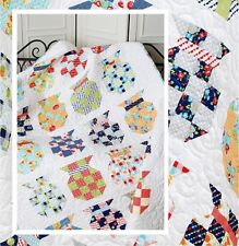New Pieced Quilt Pattern POTTERY Make It Any Size