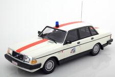 1:18 Minichamps Volvo 240 GL Police Belgium 1986 white/red