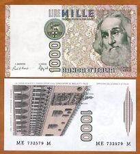 Italy, 1000 Lire, D. 1982, P-109 (109b), pre-Euro, UNC > Marco Polo