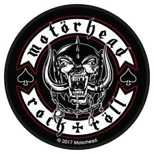 OFFICIAL LICENSED - MOTORHEAD - BIKER BADGE SEW ON PATCH METAL LEMMY