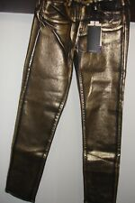 Calvin Klein Women's Brushed Klein Gold Skinny Jean size 29/32 stretch denim.