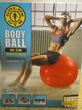 Golds Gym 65 cm Body Ball NIB