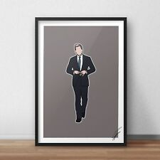 Suits / Harvey Specter INSPIRED WALL ART Print / Poster A4 A3 suits TV show art