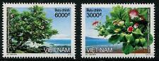 Flowering Trees mnh set of 2 stamps 2016 Vietnam ocean mountains