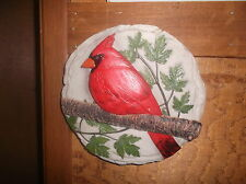 Cardinal Stepping Stone Or Wall Hanging