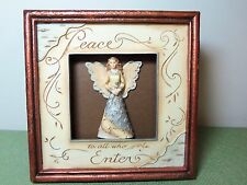 Pavilion Gifts 'PEACE TO ALL' ANGEL PLAQUE  'Elements' Collection #82072