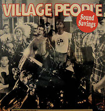 """VILLAGE PEOPLE"" SELF-TITLED LP 1977 STILL SEALED NM!!!"