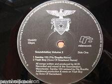 "A CERTAIN RATIO * ACR * Soundstation Vol. 2   33rpm 12""  robsrecords 12rob52 *"