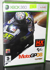 MOTO GP 08 2008 GIOCO NUOVO XBOX 360 IN EDIZIONE ITALIANA PRIMA STAMPA PG675