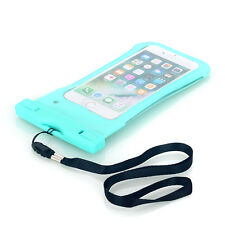 Waterproof Floating Phone Case Dry Pouch Bag with Lanyard for iPhone Samsung S8+