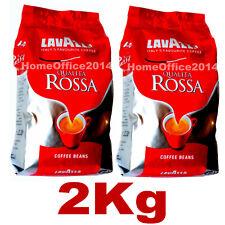 Lavazza Qualita Rossa Coffee Beans, 2 x 1kg