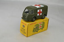 """French Dinky #80F Renault Goelette Military Ambulance 3 3/8"""" Long 1959 Ex W/Box"""