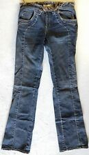 HENRY DUARTE Womens Denim Jeans Distressed Boot Cut Pants Cotton USA