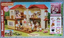 NEW Red Roof Country Two Story Home #CC1797 play house Calico Critters Kids Toy