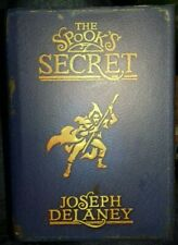 Joseph Delaney The Spooks Secret HB Book Signed 1st Edition