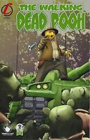The Walking Dead Pooh Homage SET of 4 Ltd. Ed. Comics