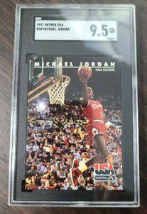 1992 Skybox USA #38 Michael Jordan SGC 9.5