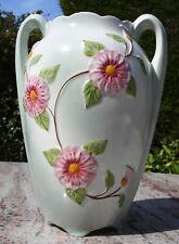 Vase en Céramique Art Déco, décor liserons