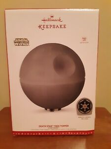 Star Wars Death Star Hallmark Keepsake Ornament Christmas Tree Topper New NIB SW