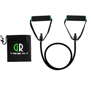 GR Resistance Band with Handles Various LB With Carry Bag Gym Training 5-25LB