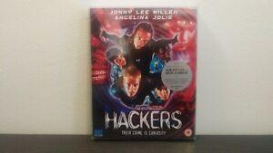 Hackers Blu-ray - 88 Films - New/Sealed /w Slipcover - Region B UK Import - Rare