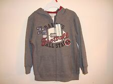 NWT Sz: 4T Boy's Zip Hoodies sweatshirt  Jacket Cotton Blend By Toughskins