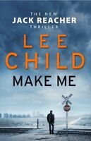 Make Me: (Jack Reacher 20) by Child, Lee, Good Book (Hardcover) Fast & FREE Deli