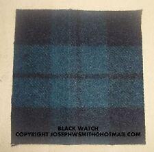 WW2 British Army Black Watch tartan patch for Tam O Shanter cap, hat