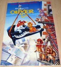 Walt Disney OLIVER & CO original Kino Plakat A0