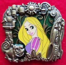 Disney Stained Glass Princess Series Rapunzel LE-300 Pin (TANGLED) RARE