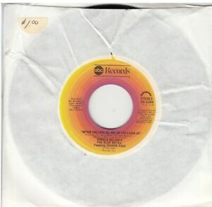 Harold Melvin & The Blue Notes After You Love Me, Why Do You Leave Me 45-rpm