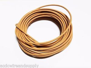 AUTOMOTIVE WIRE 10 AWG HIGH TEMP GXL STRANDED WIRE TAN  25 FT COIL