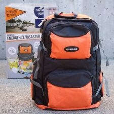 Lifeline 4048 Premium Emergency Disaster Doomsday Kit (2 Person 72hr) + Backpack