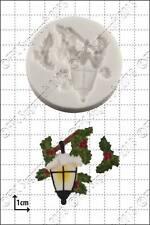 Silicone mould Xmas Lantern | Food Use FPC Sugarcraft FREE UK shipping!