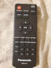 Panasonic DPVF1615ZA Remote Control