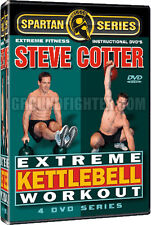 Steve Cotter - Extreme Kettlebell Workout DVDs NEW!
