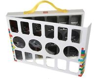 Lego ® Boîte de transport Figurines 26 x 34 cm Rangez 16 Minifig avec Poignée