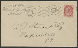 1900 Montreal Imperial Machine M3 Cancel On Clean Wholesale Jeweller CC Cover
