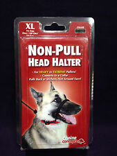 11202 Non-Pull Dog Head Halter Black XL Over 130 Lbs Heavy to Extreme Puller