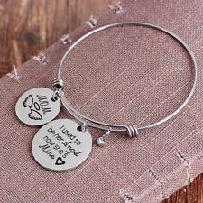 Chic I Used To Be Her Al Now She's Mine - In Memory of My Mum Nanny Bracelet Ld