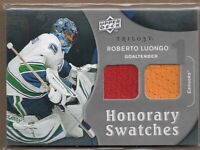 2009-10 Upper Deck Trilogy Honorary Swatches #HSRL Roberto Luongo Jersey