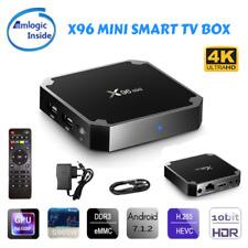 Smart TV BOX X96 Mini Android 7.1 Amlogic S905W Quad Core 2GB RAM 16GB 4K WiFi