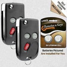 2x Car Transmitter Alarm Remote for 1998 1999 2000 2001 Oldsmobile Bravada 805